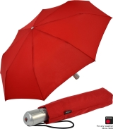Knirps Regenschirm Taschenschirm Large Duomatic - red mit...