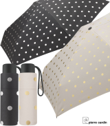 Pierre Cardin Supermini Taschenschirm Petito Metallic Dots