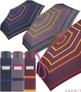 Esprit Super Mini Taschenschirm Petito Confetti Stripes