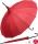 Regenschirm Sonnenschirm Long Pagode UV-Protection Charlotte rot