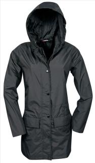 Knirps Parka SKY - Sportliche Damen Regenjacke  schwarz