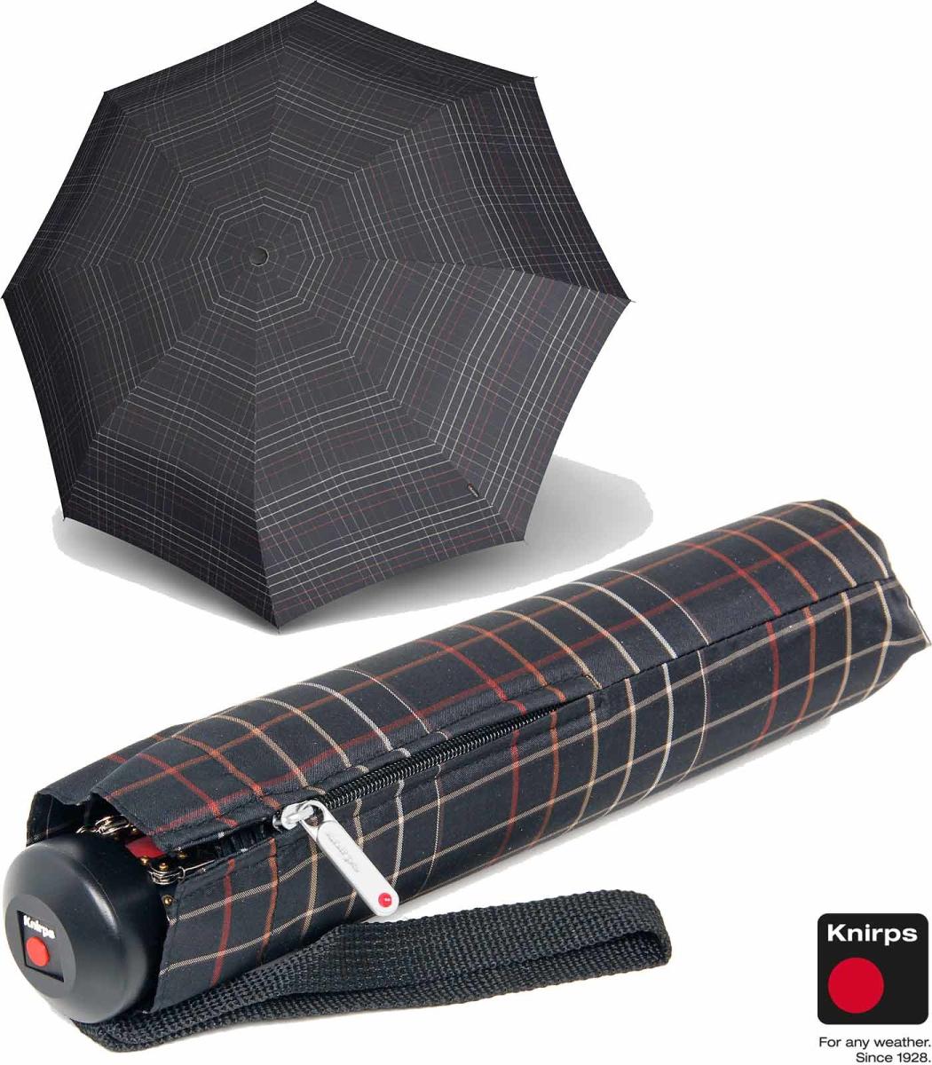 knirps regenschirm stabil minimatic sl automatik karo. Black Bedroom Furniture Sets. Home Design Ideas