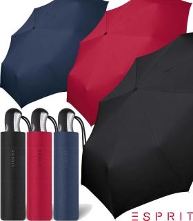 Esprit Regenschirm Easymatic 3 Auf-Zu Automatik uni