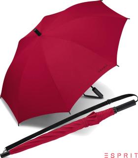 Esprit Regenschirm Umhängeschirm Schirm Slinger Automatik flagred - rot