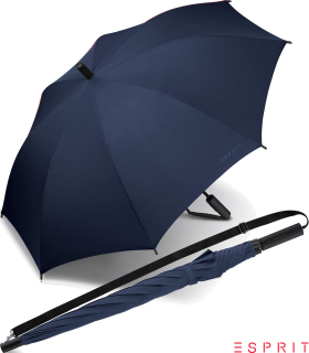 Esprit Regenschirm Umhängeschirm Schirm Slinger Automatik sailor blue - blau