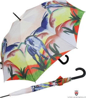 Regenschirm Stockschirm Schirm Kunst Motivschirm bedruckt Gustav Klimt Adele