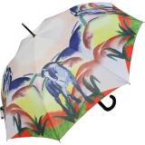 Regenschirm AC Schirm Long Franz Marc - Blaues Pferd UV-Protection