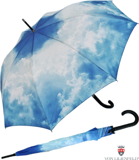 Regenschirm Automatik Schirm Long - Hamburger Himmel UV-Protection