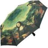 Taschenschirm Regenschirm Leonardo da Vinci - Mona Lisa...