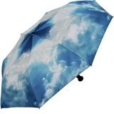 Taschenschirm Regenschirm - Hamburger Himmel UV - Protection