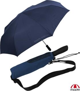 Partner- Taschenschirm Schirm Golf Regenschirm Trekking XXL Outdoor navy