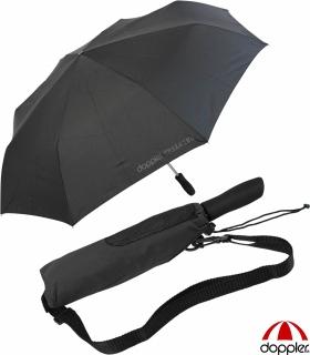 Partner- Taschenschirm Schirm Golf Regenschirm Trekking XXL Outdoor schwarz