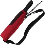 Partner- Taschenschirm Schirm Golf Regenschirm Trekking XXL Outdoor rot