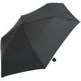 Doppler Regenschirm Mini- Taschenschirm Havanna Stick - sturmfest schwarz