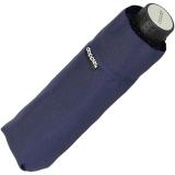 Doppler Regenschirm Mini- Taschenschirm Havanna Stick - sturmfest navy