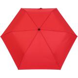 Doppler Regenschirm Mini- Taschenschirm Havanna Stick - sturmfest rot