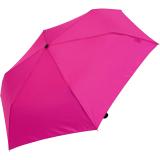 Doppler Regenschirm Mini- Taschenschirm Havanna Stick - sturmfest deep pink