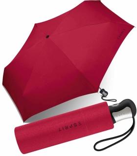 Esprit Regenschirm Mini Easymatic4 Auf-Zu Automatik flagred - rot