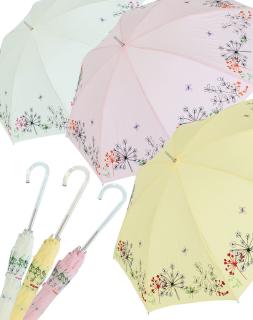 Sonnen und Regenschirm UV Schutz Lady Butterfly long