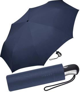 Esprit Regenschirm Taschenschirm Easymatic 3 Auf-Zu Automatik uni sailor blue