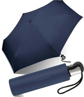 Esprit Regenschirm Mini Easymatic4 Auf-Zu Automatik sailor blue