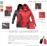 Sportliche Damen Regenjacke Parka Knirps SKY 2012 schwarz