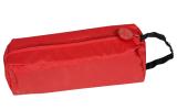 Klassischer Regenhut mit schmaler Krempe - Knirps Traveller rot  Gr.XS-S