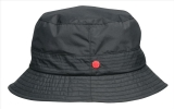 Klassischer Regenhut mit schmaler Krempe - Knirps Traveller schwarz Gr.M-L