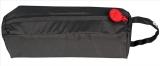 Klassischer Regenhut mit schmaler Krempe - Knirps Traveller schwarz Gr.XS-S