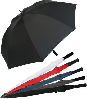 Golfschirm XXL 130cm - leichter Fiberglas Partner - Regenschirm Birdie mit Softgriff