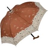 Regenschirm Stockschirm Stützschirm Fritzgriff kariert groß stabil Damen Herren bordeaux