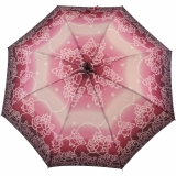 Regenschirm Stockschirm Stützschirm Fritzgriff kariert groß stabil Damen Herren beige