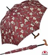 Regenschirm Stützschirm stabil Holzgriff natur Iron...
