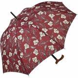 Regenschirm Stützschirm stabil Holzgriff natur Iron stripes