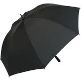 Golf Schirm XXL Partner- Regenschirm Fiberglas Birdie Stabgriff schwarz