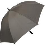 Golf Schirm XXL Partner- Regenschirm Fiberglas Birdie Stabgriff grau
