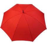 Regenschirm Portierschirm Golf Schirm Partnerschirm Stabgriff - Fiberglas XXL rot