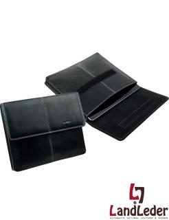 Leder Tablet PC - I-Pad Mappe Etui DATE - LandLeder Oxford-Cow