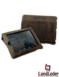 Tablet PC Tasche JOSE - Cover Hülle im I-Pad Format - LandLeder Vintage Anatomy