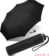 Esprit Regenschirm Mini Alu Light manual uni black