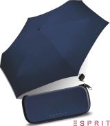 Esprit Regenschirm Mini Esbrella manual sailor blue