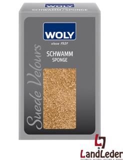 Woly - Smooth Leder-Schwamm - Suede Velours