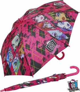 Kinderschirm Automatik Regenschirm - Monster High - shattered pink