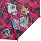 Kinderschirm Automatik Regenschirm - Monster High - shattered pink