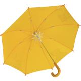 Kinderschirm Automatik Regenschirm - Kukuxumusu - Große Froschliebe gelb