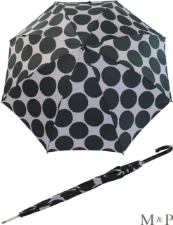 M&P Damen Regenschirm Long stabil Automatik Circulos flieder