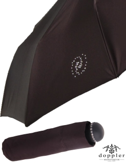 Doppler Manufaktur - Damen Mini- Taschenschirm TITAL Swarovski