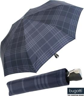 Regenschirm bugatti gran turismo  Auf-Zu Automatik check blue