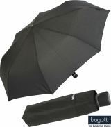 Regenschirm bugatti Mini take it manual uni black