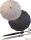 M&P eleganter leichter Damen Stockschirm - Regenschirm 12 teilig manual  - Liso